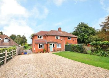 Thumbnail 3 bed semi-detached house for sale in Dummer Road, Axford, Basingstoke