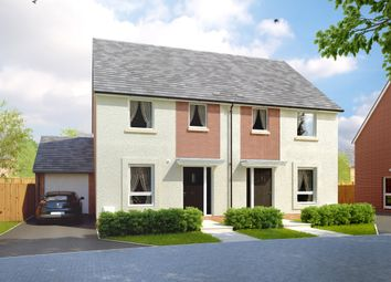 "Thumbnail 3 bed semi-detached house for sale in ""The Allington"" at Amesbury Road, Longhedge, Salisbury"