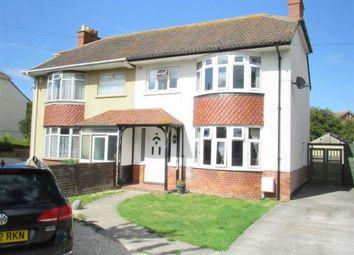 Thumbnail 3 bed semi-detached house for sale in Burnham Road, Highbridge