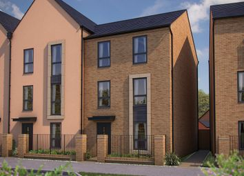 "Thumbnail 4 bedroom town house for sale in ""The Shenley"" at Barrosa Way, Whitehouse, Milton Keynes"