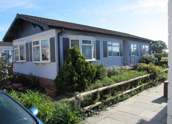 Thumbnail 2 bed mobile/park home for sale in Fleur De Lys Park, Pilley, Lymington, Hampshire, 5Qj