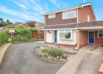 Thumbnail 3 bed link-detached house for sale in Welbeck Drive, Kidderminster