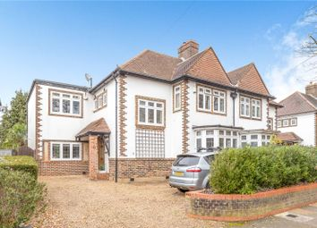 Thumbnail 4 bed semi-detached house for sale in Stanhope Avenue, Hayes