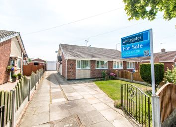 Thumbnail 2 bed semi-detached bungalow for sale in Tranmoor Lane, Armthorpe, Doncaster