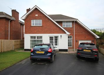 Thumbnail 4 bed detached house for sale in Laragh Park, Bangor