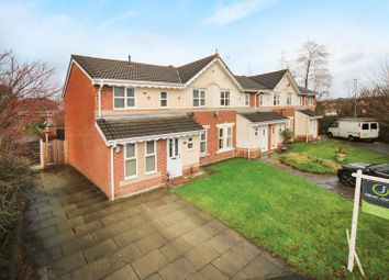 Thumbnail 3 bed terraced house for sale in Reedley Drive, Walkden, Manchester