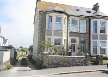 Thumbnail 4 bed semi-detached house for sale in Springfield Road, Newquay