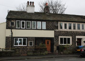 Thumbnail 2 bed cottage for sale in Halifax Road, Smallbridge, Rochdale