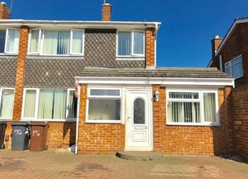 Thumbnail 4 bed semi-detached house for sale in Fulford Drive, Northampton