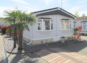 Thumbnail 2 bed mobile/park home for sale in Poplars Park, Shripney Road, Bognor Regis, West Sussex