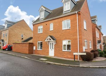 Thumbnail 4 bedroom detached house for sale in East Of England Way, Peterborough