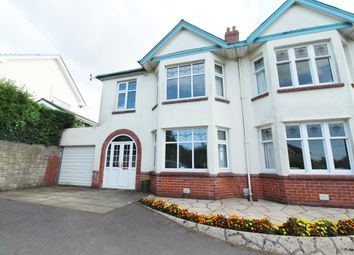 Thumbnail 3 bedroom semi-detached house for sale in Christchurch Road, Newport