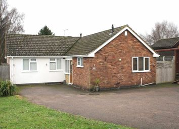 Thumbnail 3 bedroom detached bungalow for sale in Grey Close, Groby, Leicester