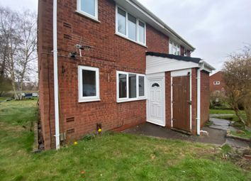 Thumbnail 1 bed flat to rent in Maybank Close, Lichfield