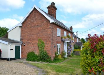 Thumbnail 3 bed cottage for sale in Harleston Road, Weybread, Diss