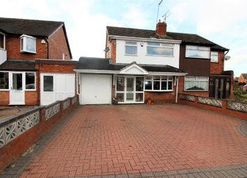 Thumbnail 4 bedroom semi-detached house for sale in Balmoral Drive, Willenhall