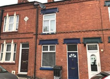 Thumbnail 2 bedroom terraced house for sale in Beatrice Road, Newfoundpool, Leicester