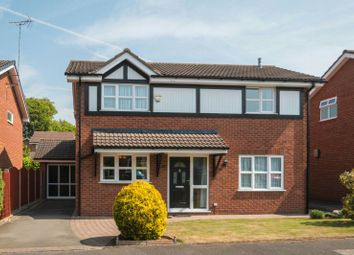 Thumbnail 4 bed detached house for sale in Medway Crescent, Broadheath, Altrincham