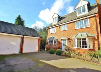 Thumbnail 5 bedroom detached house for sale in Hickling Close, Rothley, Leicestershire