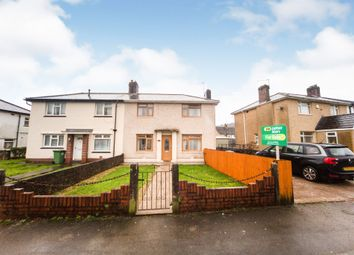 Thumbnail 3 bed semi-detached house for sale in Ceiriog Crescent, Rhydyfelin, Pontypridd