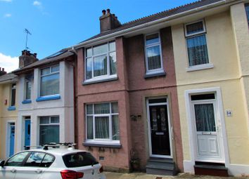 Thumbnail 3 bed terraced house for sale in Lydford Park Road, Peverell, Plymouth, Devon
