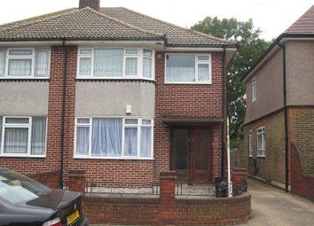 Thumbnail 1 bedroom maisonette to rent in Epsom Road, Seven Kings, Ilford