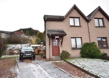 Thumbnail 2 bed semi-detached house for sale in Linn Brae, Aberlour