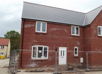 Thumbnail 3 bedroom semi-detached house for sale in Plot 83, Dukes Way, Axminster