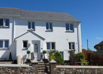 Thumbnail 4 bed end terrace house for sale in Cassiterite Close, Bucklers Lane, St Austell
