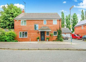 Thumbnail 4 bed detached house for sale in Saxonlea Close, Rushden, Northamptonshire