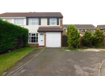 Thumbnail 3 bed semi-detached house to rent in Ribbleton Close, Lower Earley, Reading