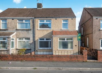 Thumbnail 3 bed semi-detached house for sale in Herne Street, Briton Ferry, Neath