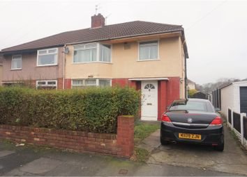 Thumbnail 3 bed semi-detached house for sale in Cherry Tree Road, Liverpool