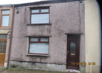 Thumbnail 2 bedroom terraced house to rent in Alma Road, Maesteg, Bridgend.