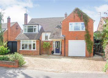Thumbnail 5 bed detached house for sale in Elger Close, Biddenham Village, Bedford