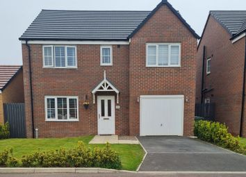Thumbnail 5 bed detached house for sale in Drake Avenue, Blyth