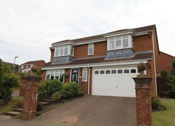 Thumbnail 4 bed detached house for sale in Ashfield Park, Newcastle Upon Tyne