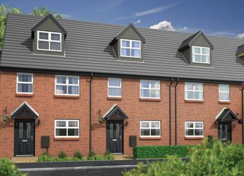 Thumbnail 3 bed town house for sale in Horrocks Street, Plank Lane, Leigh