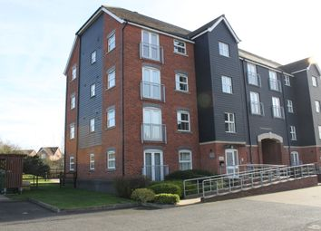 Thumbnail 2 bedroom flat for sale in Long Meadow Drive, Hinckley
