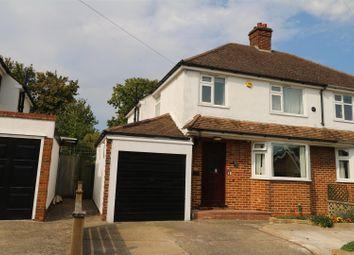 Thumbnail 3 bed semi-detached house for sale in Kings Road, Tonbridge