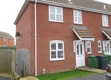 Thumbnail 3 bedroom terraced house for sale in Ostlers Close, Downham Market