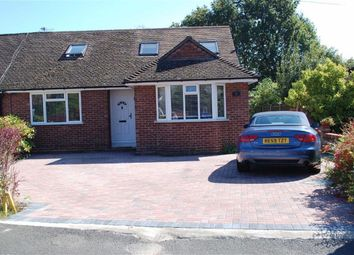 Thumbnail 4 bed semi-detached bungalow for sale in Burleigh Close, Addlestone, Surrey