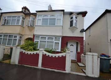 Thumbnail 3 bed flat to rent in Lawrence Avenue, London