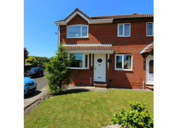 Thumbnail 2 bedroom semi-detached house for sale in Carshalton Grove, Wolverhampton
