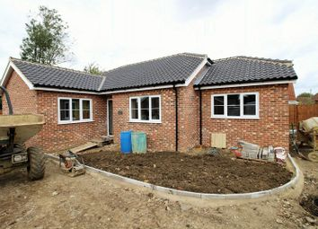 Thumbnail 3 bedroom detached bungalow for sale in Yaxham Road, Dereham, Norfolk