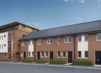 Thumbnail 2 bedroom town house for sale in Cottage Close, Chesterfield