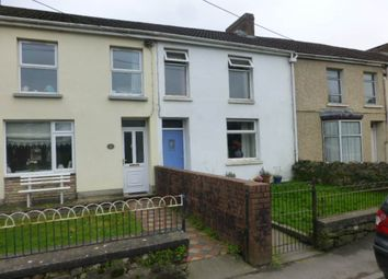 Thumbnail 3 bed terraced house to rent in Eva Terrace, Ferryside