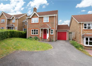 Thumbnail 4 bedroom detached house for sale in Campion Drive, Romsey, Hampshire
