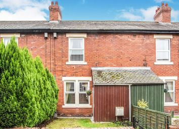 Thumbnail 3 bed terraced house for sale in Richmond Terrace, Walbottle, Newcastle Upon Tyne