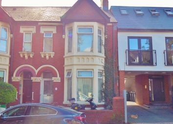Thumbnail 5 bedroom terraced house for sale in Penylan Road, Roath, Cardiff